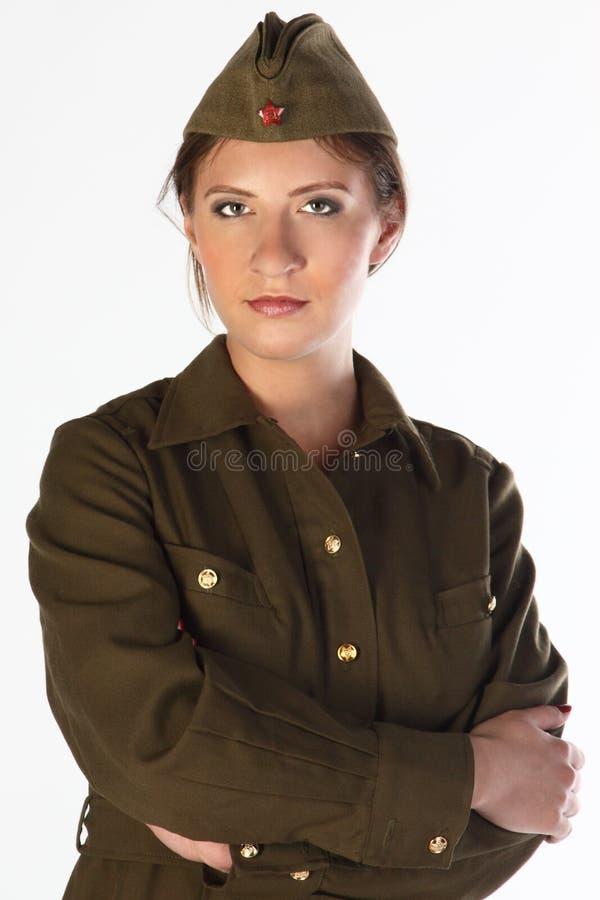 сформируйте воиска девушки стоковые изображения rf