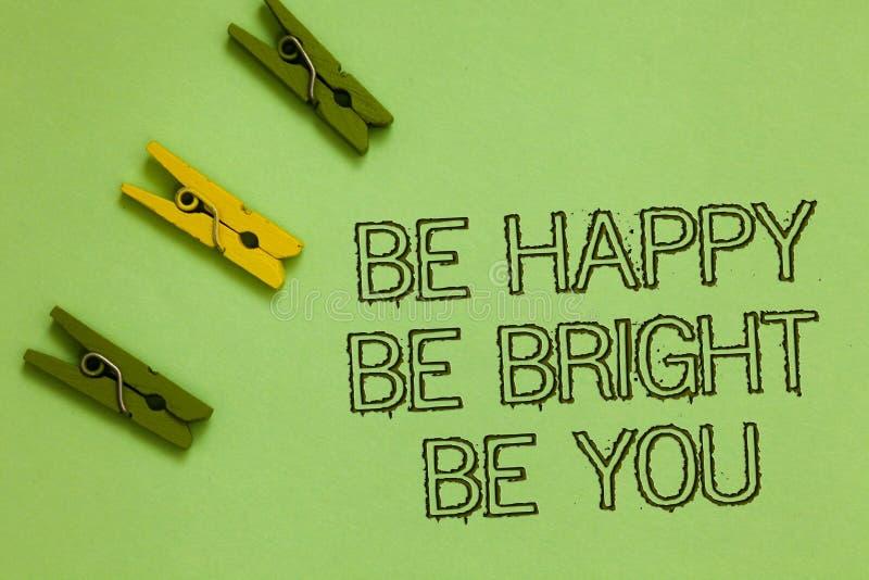 Сформулируйте текст сочинительства счастливый яркий вы Концепция дела для ориентации самоуверенности хорошей наслаждается жизнера стоковое изображение