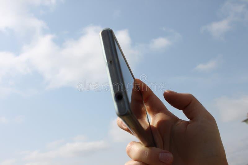 Сфотографированный на smartphone стоковое изображение rf
