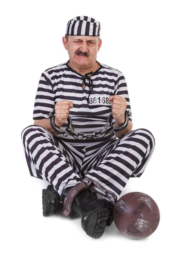 Схватка с наручниками стоковое фото