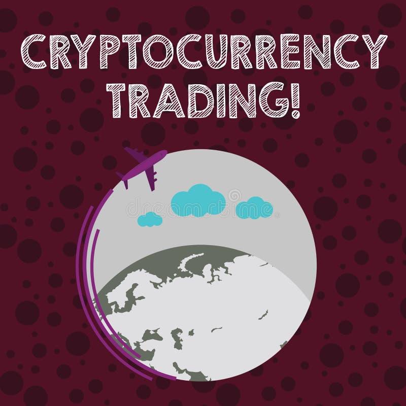 Схематическая рука писать показывающ торговую операцию Cryptocurrency Текст фото дела просто обмен cryptocurrencies внутри бесплатная иллюстрация