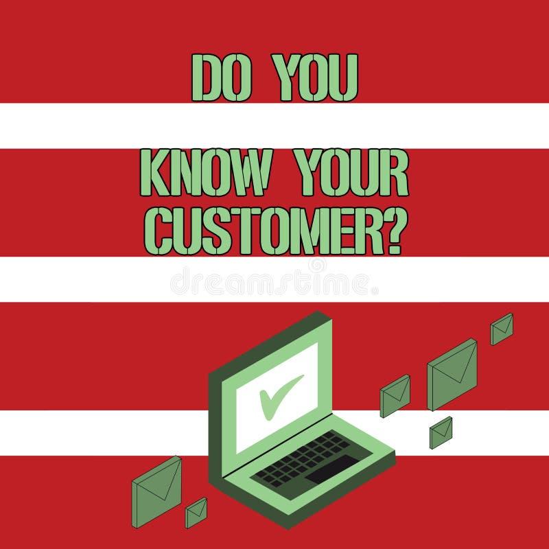 Схематический показ сочинительства руки вы знаете ваш вопрос о клиента Обслуживание фото дела showcasing определить клиентов бесплатная иллюстрация
