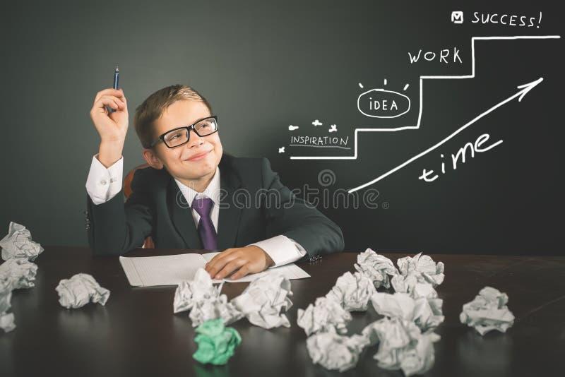 Схематическое изображение бизнес-плана для start-up стратегии бизнеса стоковое изображение rf