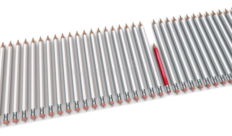 Схематическое изображение относительно лени и трудолюбия стоковая фотография rf