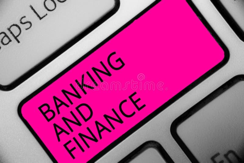 Схематическое сочинительство руки показывая банк и финансы Бухгалтерия фото дела showcasing и интересы денег запасов реальностей  стоковые фотографии rf