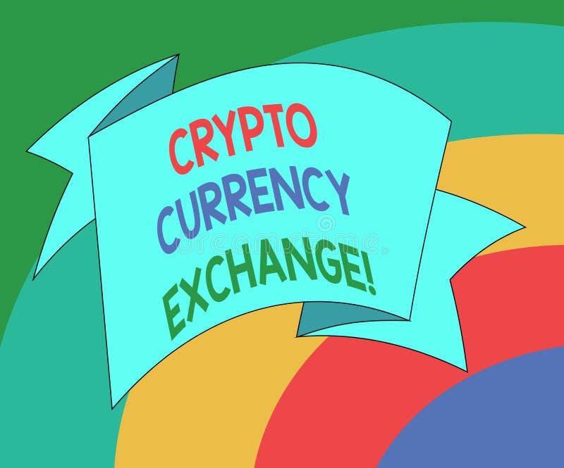 Схематическое сочинительство руки показывая секретный обмен валюты Торговая операция фото дела showcasing цифровых валют для друг иллюстрация штока
