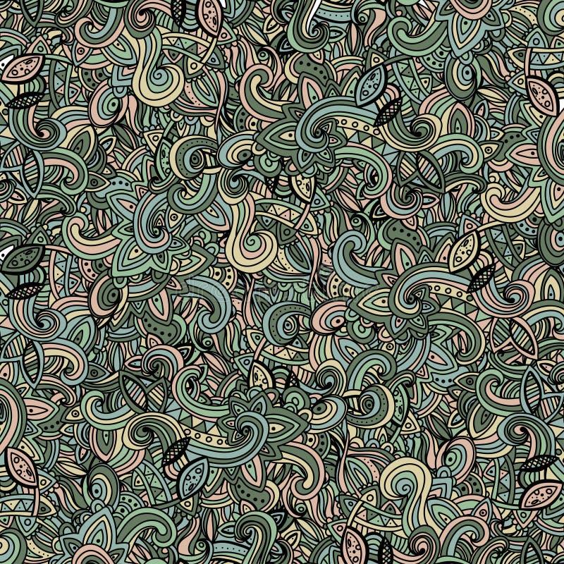 Схематичное Multicolor doodles картины декоративное бесплатная иллюстрация