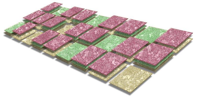 схема технологического процесса диаграммы стоковая фотография