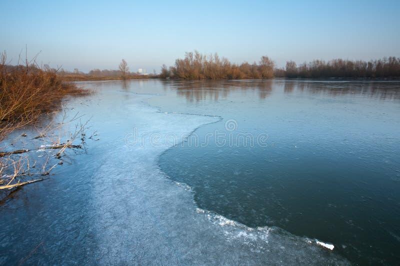 сценарная зима стоковые фотографии rf