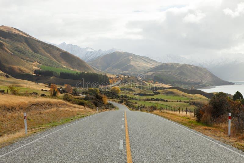 Сценарная дорога стоковая фотография rf