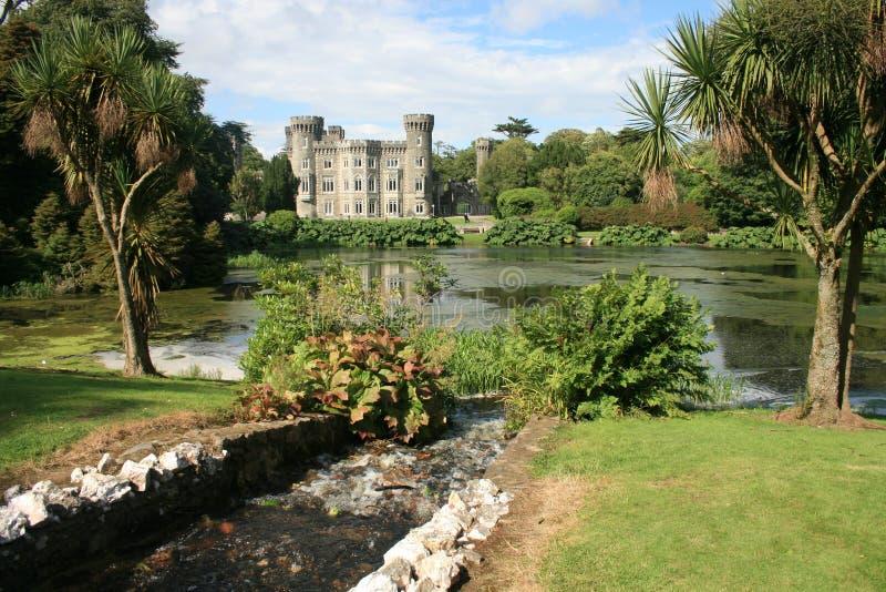 сценарное замока ирландское стоковая фотография rf