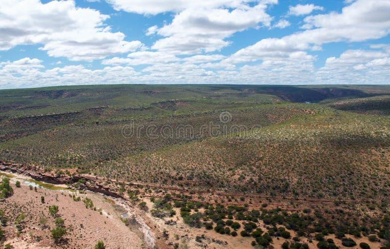 Сценарные взгляды Kalbarri: Западная Австралия стоковое фото
