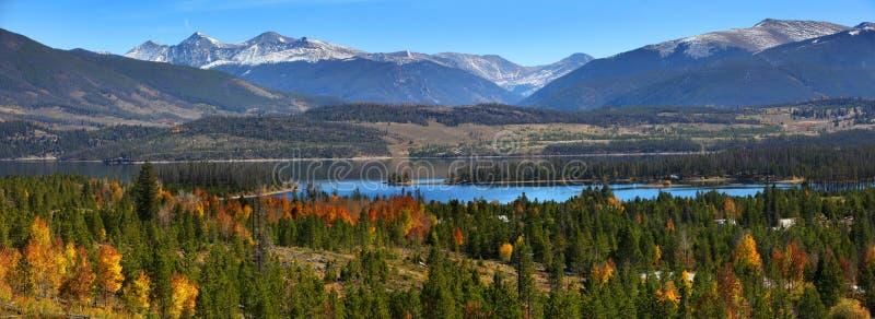 Сценарный ландшафт в Колорадо стоковое изображение