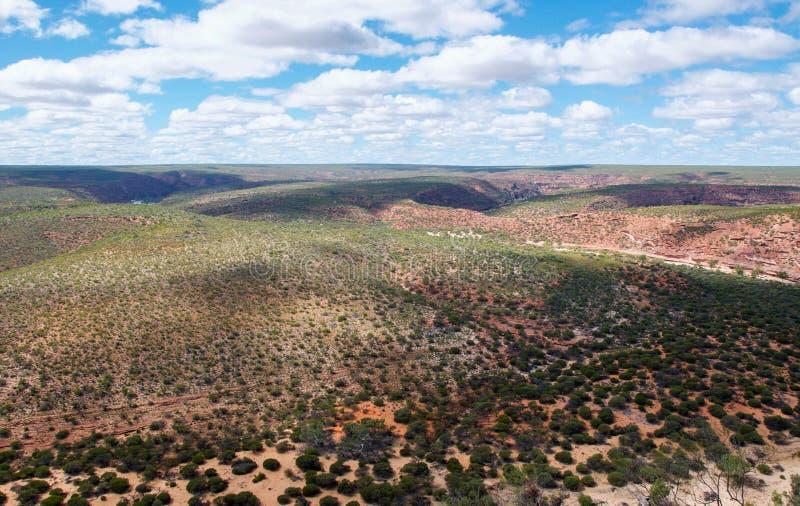 Сценарный взгляд ландшафта: Западная Австралия стоковые изображения