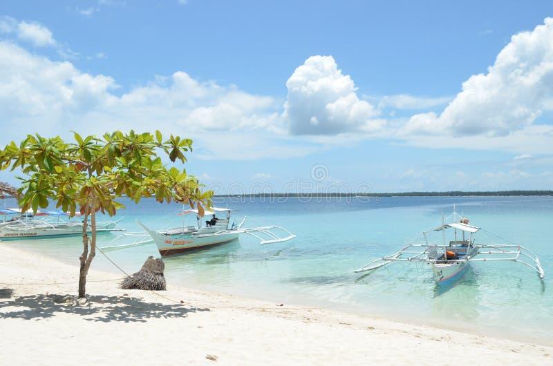Сценарный остров Bantayan стоковые изображения
