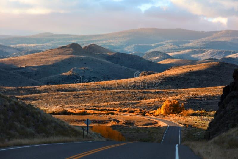 Сценарный привод через Колорадо стоковые фотографии rf