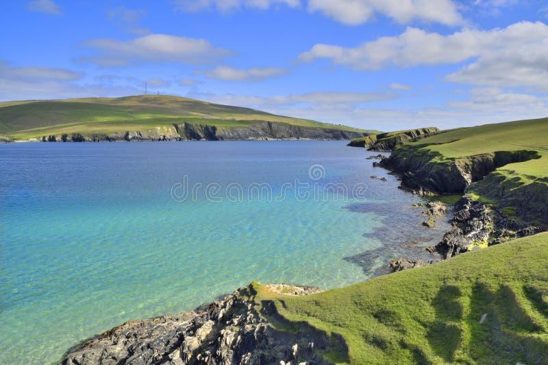 Сценарный Shetland стоковые изображения