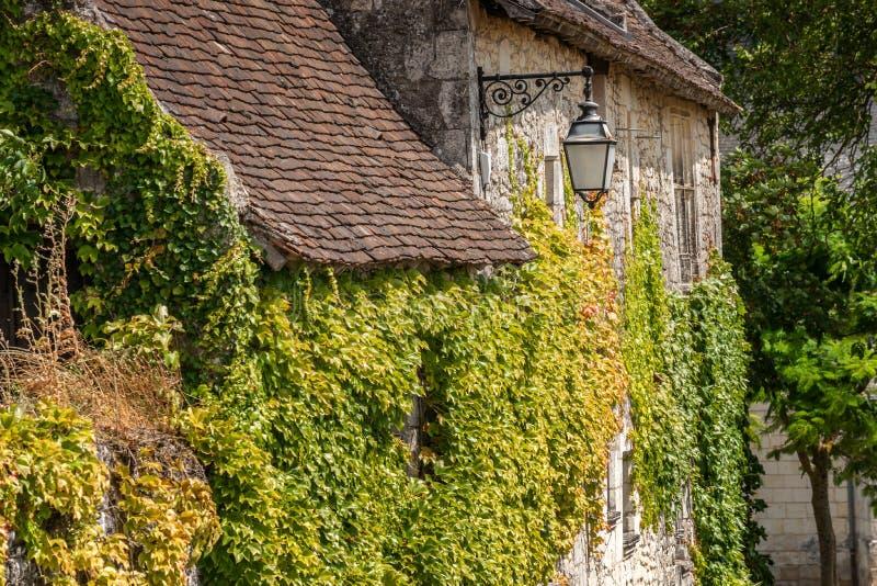 Сцена в Manse Crissay Sur, деревне в Loire Valley стоковые изображения rf