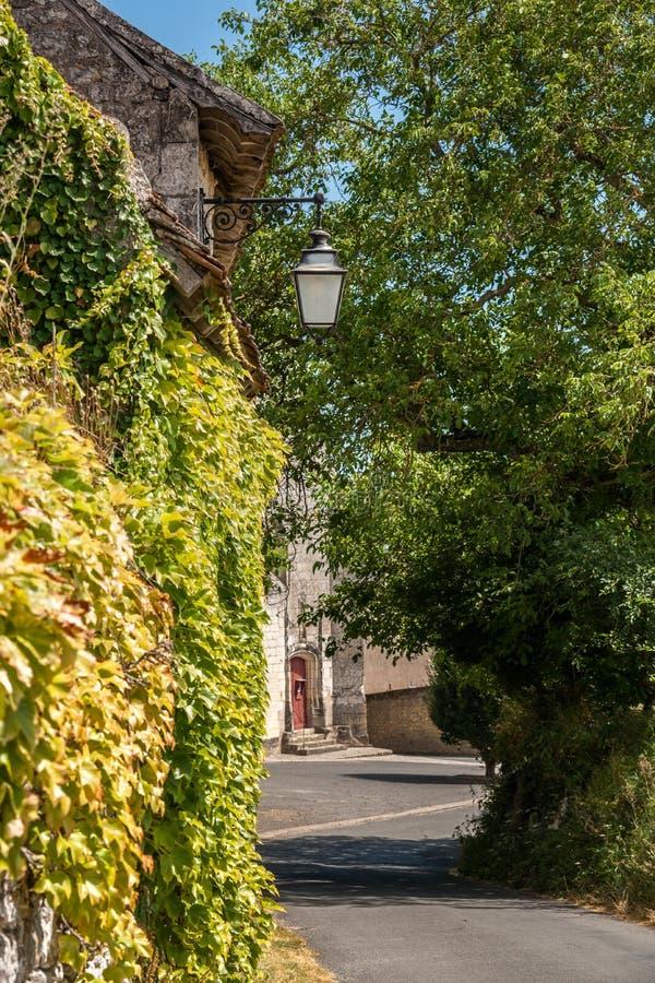 Сцена в Manse Crissay Sur, деревне в Loire Valley стоковые фотографии rf
