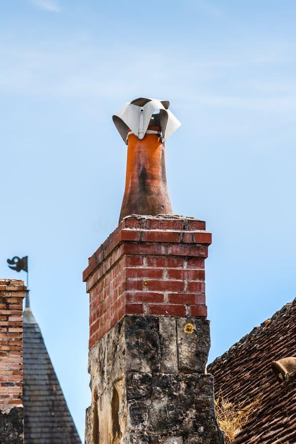 Сцена в Manse Crissay Sur, деревне в Loire Valley стоковые фото