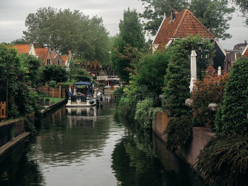 Сцена канала в Эдамере стоковые изображения