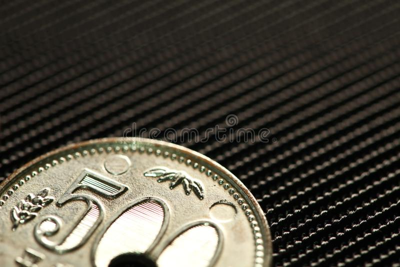 Сцена монетки модельная стоковые изображения rf