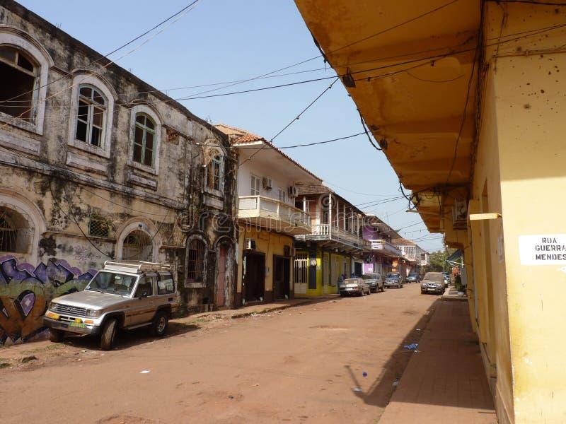 Сцена от Гвинеи-Бисау стоковая фотография rf