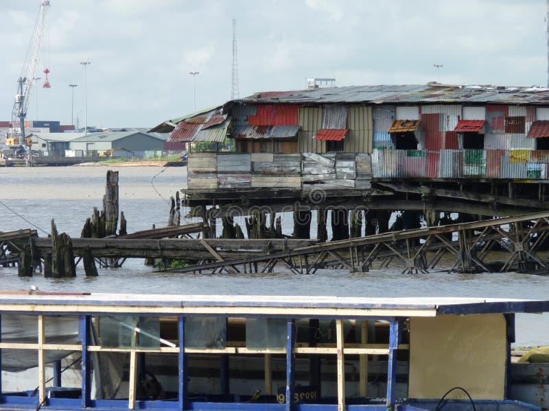 Сцена от Parimaribo, Суринама стоковая фотография rf