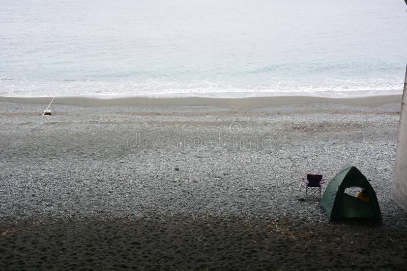 Сцена пляжа стоковые изображения