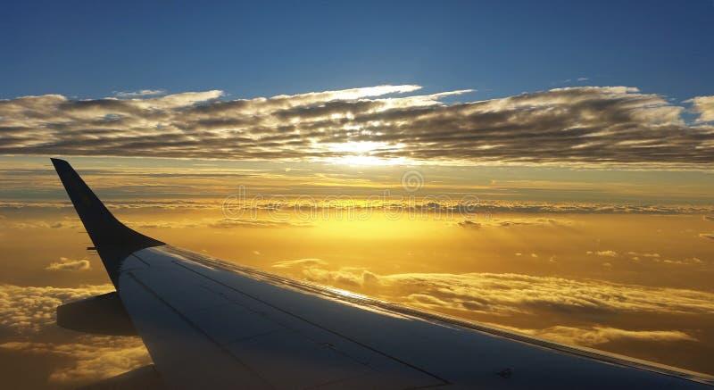 Сцена полета стоковые фото
