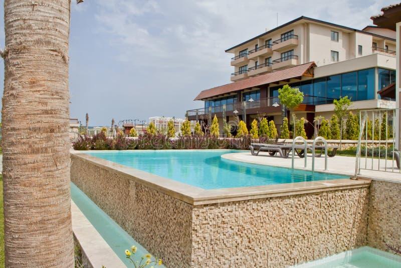 Сцена роскошной гостиницы стоковое изображение rf