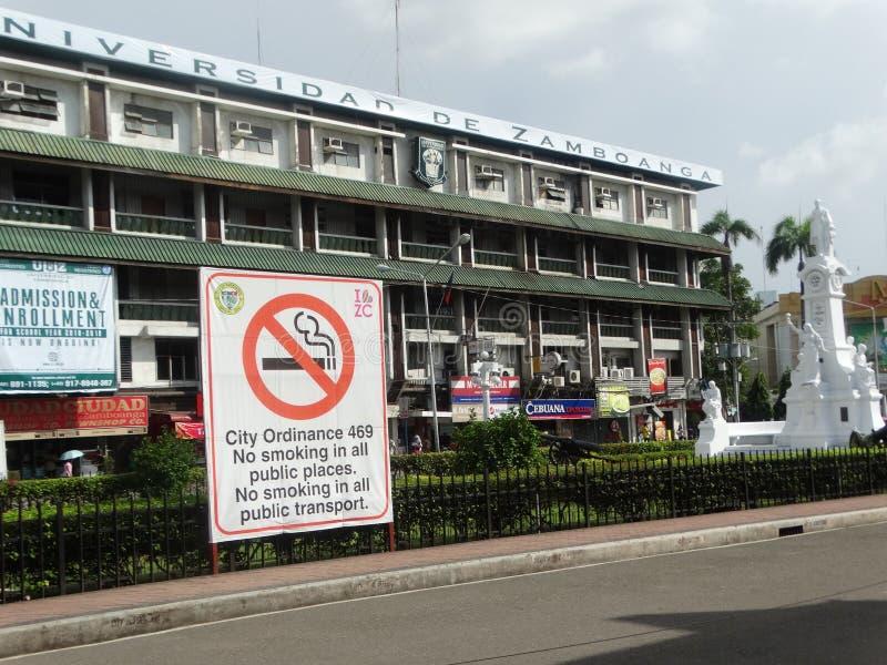 Сцена улицы Zamboanga, Mindanao, Филиппины стоковое фото rf