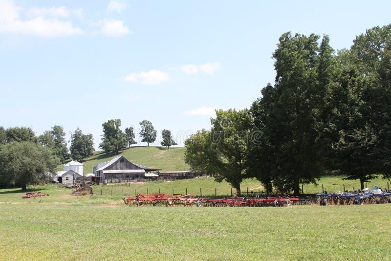 Сцена фермы стоковые фото
