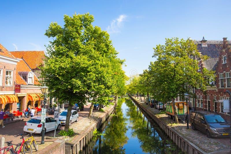 Сцена Эдамера нидерландская стоковые изображения rf