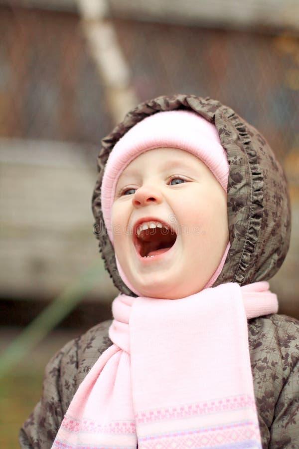 Счастливая девушка стоковые фотографии rf