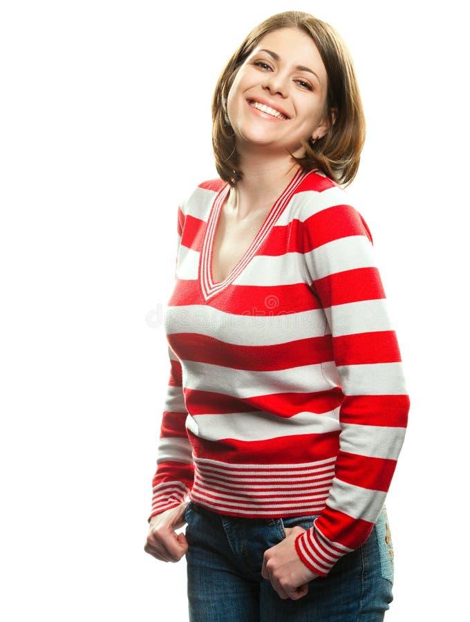 счастливая женщина стоковые фотографии rf