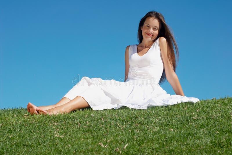 счастливая женщина стоковые изображения