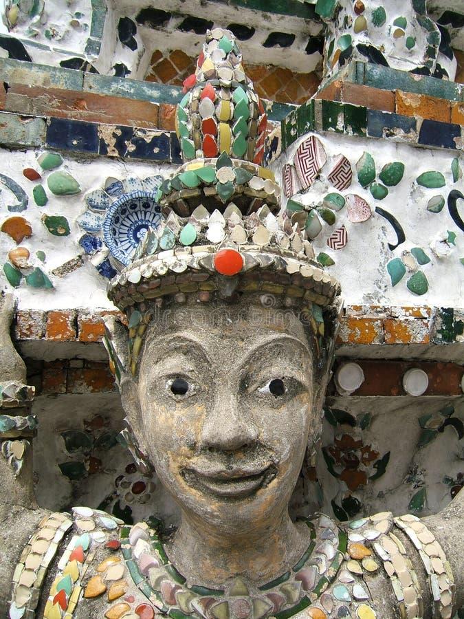 счастливая каменная женщина стоковое фото rf