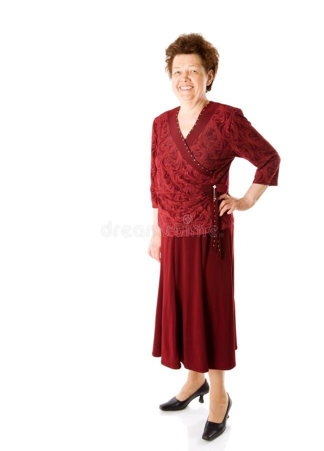 счастливая повелительница старая стоковое изображение rf
