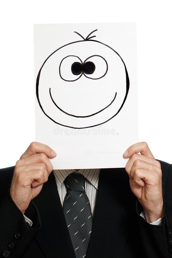 счастливая усмешка стоковое фото rf