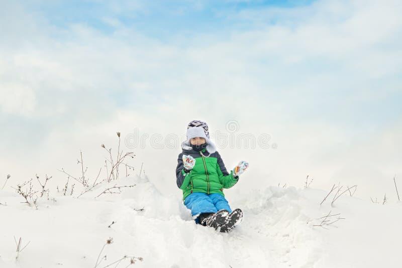 Счастливого зимнего отпуска стоковое изображение rf