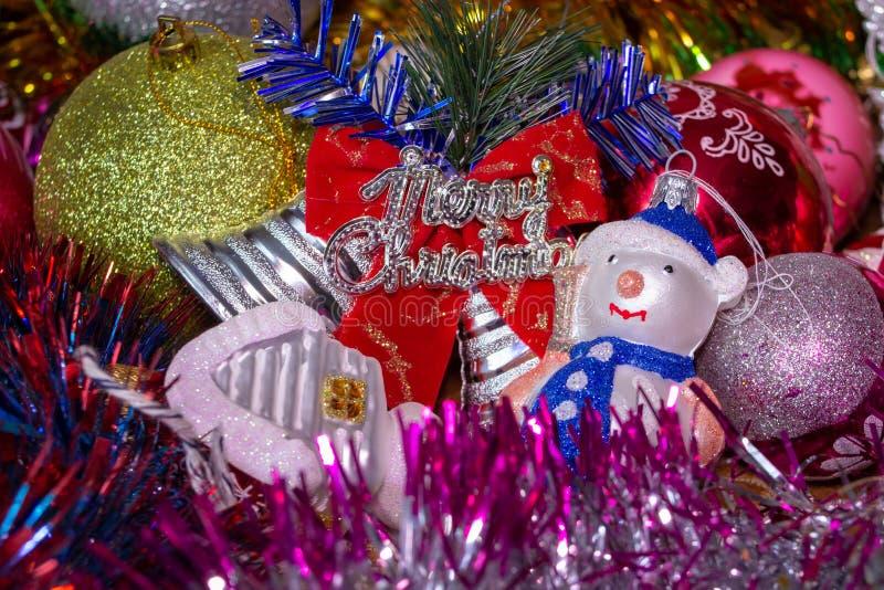 Счастливого Рождества,Прекрасная поздравительная открытка на Рождество стоковое изображение