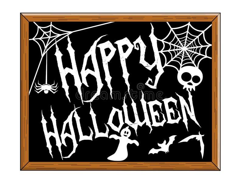 Счастливое изолированное классн классный хеллоуина бесплатная иллюстрация