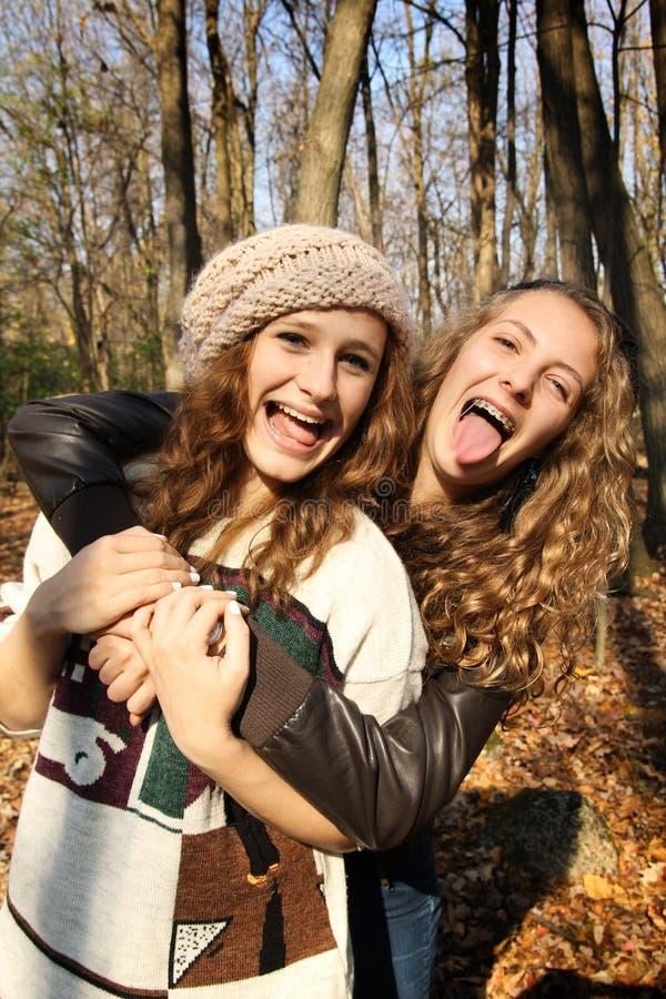 Счастливое предназначенное для подростков стоковые изображения rf