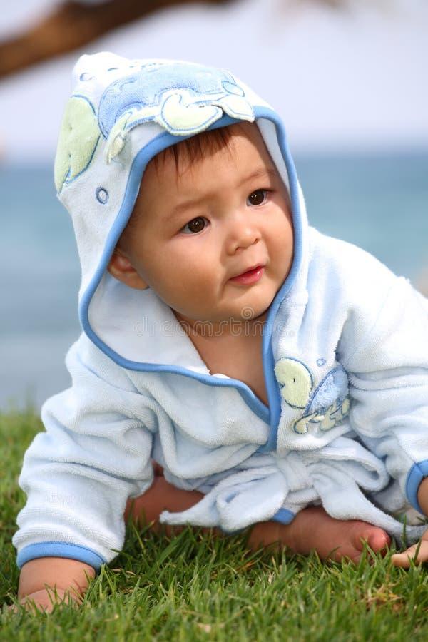 счастливое ребёнка милое стоковые изображения rf