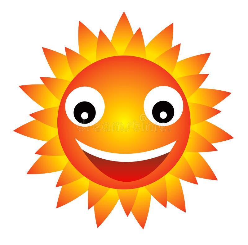 Download счастливое солнце иллюстрация штока. иллюстрации насчитывающей сила - 650718