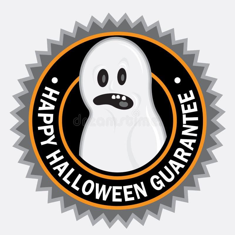 Счастливое уплотнение Halloween иллюстрация вектора