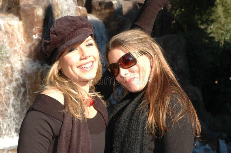 счастливые женщины стоковые фото