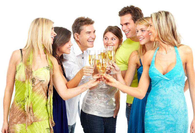 счастливые люди стоковое фото rf
