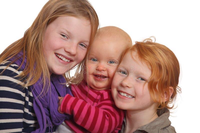 счастливые малыши 3 стоковая фотография